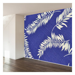 WallsNeedLove - Who is Blue in The Tropics Wall Mural Decal - Home may be where the heart is, but adventure is where the soul lies.