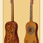 Buyenlarge - The Rizzio Guitar 12x18 Giclee on canvas - Series: Renaissance Musical Instruments