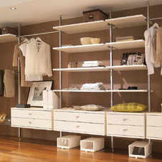 Contemporary Closet Organizers by Space Pro USA