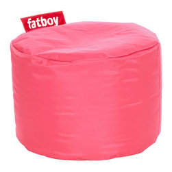 Fatboy - Point Bean Bag in Pink - Filled with virgin polystyrene beads.