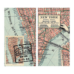New York Map Matches - The ideal complimentary gift to give with one of our luxuriously scented candles, our matches come in delightful designs to suit all tastes like these New York Map Matches. A nod to the ever bustling big apple, these inspire thoughts of Subways, bright lights and the big city.