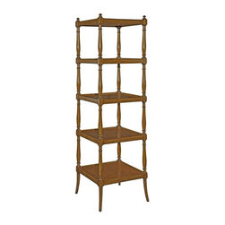 EuroLux Home - New Etagere Whitney Brown/Beige/Tan Cherry - Product Details