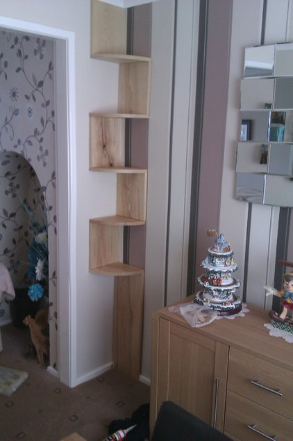 Contemporary Display And Wall Shelves  by Fabbedfx