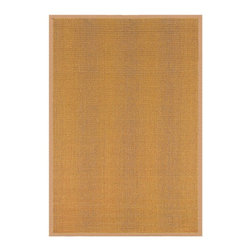 Nu Loom - Natural Fiber Natura 6'x9' Rectangle Beige Area Rug - The Natura area rug Collection offers an affordable assortment of Natural Fiber stylings. Natura features a blend of natural Beige color. Machine Made of 100% Sisal the Natura Collection is an intriguing compliment to any decor.