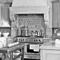 Kitchen Hoods, Counters and Floors - Image provided by 'Ancient Surfaces'