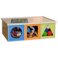 Modern Toy Organizers by ViaBoxes