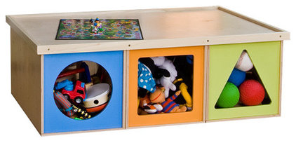modern toy storage by ViaBoxes