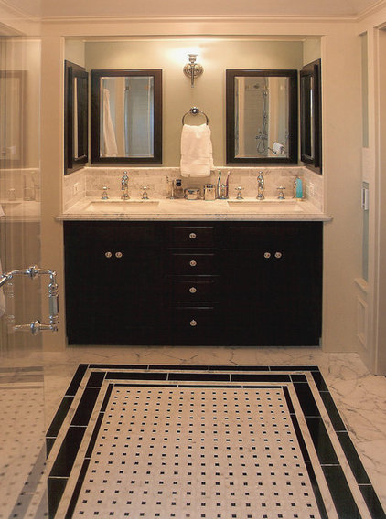 traditional bathroom by ACANTHUS Architecture &amp; Design, San Francisco, CA