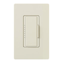 Lutron - Maestro 600W Electronic LV Multi Location Dimmer - Maestro 600 watt  electronic low voltage digital fade dimmer is used for multi-location dimming. Can be used with up to nine maestro companion dimmers. Minimum load is 40 watts. Requires neutral wire connection. Tap on to favorite light level, tap off. Tap twice for full on. Press, hold and release for delayed fade-to-off. Touch rocker to adjust light level. Provides true dimming from one location with companion dimmers. Available in white, ivory, almond, light almond, grey, brown or black. Wall plate sold separately.