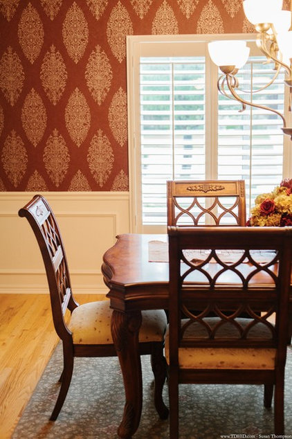 Traditional Dining Room by The Design House Interior Design