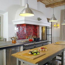 Mediterranean Kitchen Lighting And Cabinet Lighting by Ancient Surfaces