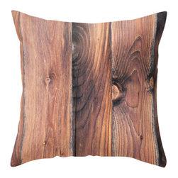 "BACK to BASICS - Barn Wood Pillow Cover, 16x16 - ""Barn Wood"" image was taken in Tuernitz, Austria."