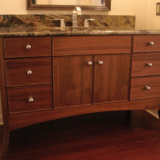 Contemporary Bathroom Vanities And Sink Consoles by Heirloom Custom Woodworks