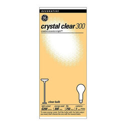 GE Lighting - GE Lighting 266W Clear Incandescent Light Bulb - 6 pk. Multicolor - JEN2261 - Shop for Light bulbs from Hayneedle.com! Light up any space with the help of the bright vibrant GE Lighting 266W Clear Incandescent Light Bulb. Ideal for enclosed fixtures this bulb offers a clean clear light that's certain to add beauty to your home. The par shape makes it easy to replace.About GE LightingGE Lighting is the professional division of General Electric. They specialize in lighting solutions around the world. It was the invention of the world s first affordable incandescent lamp that created GE. It began in 1892 with the merging of Thomas Edison s Edison Electric Company and the Thomson Houston Company. By 1911 GE owned 75% of the National Electric Lamp Company (NELA) and moved their operations to Nela Park the very first industrial park in the world. In 1975 the 92-acre Nela Park was listed as a Historic Place in the US Department of the Interior s National Register.For over 130 years GE scientists have been pioneers of innovative lighting. Thousands of patents and two Nobel prizes later GE Global Research continues to bring light to the world and helps advance new efficient technologies that cost less and have less of an environmental impact than ever before.