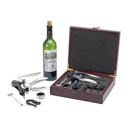 Picnic at Ascot - Connoisseur Wine Opener Set - Features: