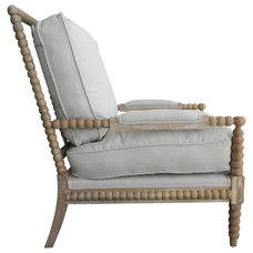 Beach Style Accent Chairs by Charlotte and Ivy