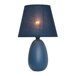 """All the Rages - All the Rages LT2009 Simple Designs 9.45"""" Height 1 Light Table Lamp with Empire - Specifications:"""
