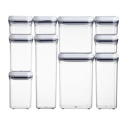 OXO® 10-Piece Pop Container Set - Squared containers fit better together