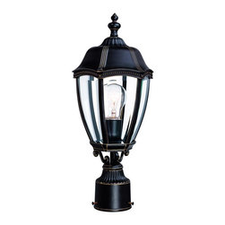Dolan Designs - Dolan Designs 952-20 18 1 2 Outdoor Post LightRoseville Collection - Dolan Designs offers some of the finest styles and finishes available in home lighting and occasional furniture today, allowing you to create a distinctive look for your home.