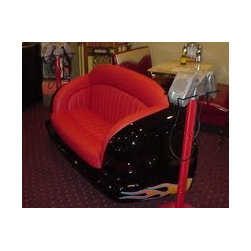 Bars and Booths Custom Carseat Car Bench Diner Booths - Bars and Booths Car Seat Sofa Diner Booth CAR SEAT SOFA