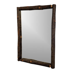 Flat Rock Furniture - Flat Rock Berea Mirror - The classic Berea mirror is a compliment to desks, dressers, and buffets offered by Flat Rock
