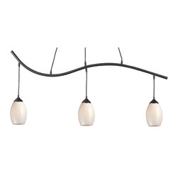 Z-Lite - Z-Lite 131-3SB-WHITE Jazz 3 Light Billiard Lights in Sand Black - This 3 light Billiard from the Jazz collection by Z-Lite will enhance your home with a perfect mix of form and function. The features include a Sand Black finish applied by experts. This item qualifies for free shipping!