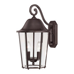 Savoy House - Savoy House 5-6212-13 Truscott 2 Light Wall Lantern - Give your home a fresh look with this eye-catching group from Savoy House.