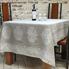 eclectic table linens by Etsy