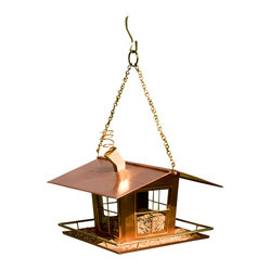 Wacky Copper Bird Feeder