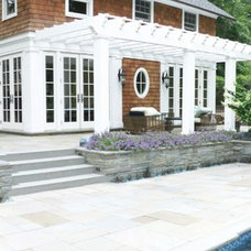 Traditional Pool by Little Miracles Designs