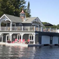 Muskoka Timber Frame Co. - MacIver Point, Lake Muskoka Photo Gallery