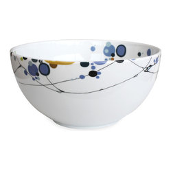 Kites 10-inch Serving Bowl by Dana Oldfather
