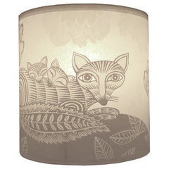 eclectic lamp shades by lushlampshades.co.uk