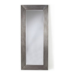 Arteriors - Ira Mirror - For a great reflection on your unfussy style, add this piece to your favorite setting. The rectangular wood frame, clad in a galvanized finish, elegantly complements the beveled mirror.
