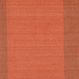 Kenneth James - Yi Min Red Grasscloth Wallpaper - For intriguing texture, go for grass cloth. This rich-colored wall covering adds depth and warmth to your decor.