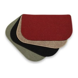 Glenoit Corporation - Berber 30-Inch x 18-Inch Kitchen Slice Rugs - A slice rug by the kitchen sink or any other heavy-traffic spot will help prevent wear and tear on your floor and carpeting. 100% Olefin.