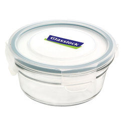 Glasslock Oven Safe Round 1.6 cup - Oven-safe and microwavable