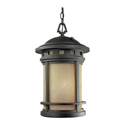 """Designers Fountain - Designers Fountain Sedona-ES Outdoor Lighting Fixture - Shown in picture: 11"""" Energy Star Hanging Lantern in Oil Rubbed Bronze finish"""