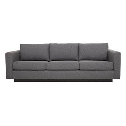 Christopher Sofa - The deep. An oversized profile and ample padding offer seating with exceptional comfort. A recessed base gives this sofa the appearance of floating above your floor. Who wouldn't want to float?