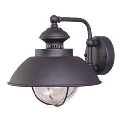 """Vaxcel - Vaxcel OW21501TB Harwich 10"""" Outdoor Wall Light Textured Black - Vaxcel OW21501TB Harwich 10"""" Outdoor Wall Light Textured Black"""