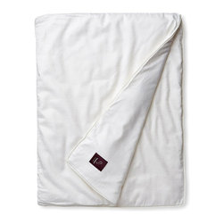 Raeshmi by Silk Story - Silk-Filled PillowMate - Silk-filled pillows are luxurious and healthful but lose loft as the fill flattens with use. Overstuffing helps, but significantly (and needlessly, we think) adds to the cost of the pillow.