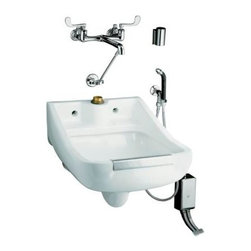 KOHLER - KOHLER K-8935-NA Rim Guard for Front Rim Installation on Camerton Sink - KOHLER K-8935-NA Stainless Steel Rim Guard for Front Rim Installation on Camerton Sink, 11""