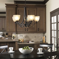 Traditional Dining Room by Philips Lighting US