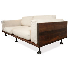 Industrial Sofas by Kathy Kuo Home