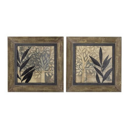 www.essentialsinside.com: new world framed wall art, set of 2 - New World Framed Wall Art, Set of 2 by Uttermost, available at www.essentialsinside.com