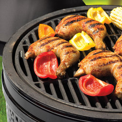Black Olive - Meats and vegetables alike can be grilled on the Black Olive.