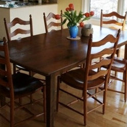 Products rustic farm table Design Ideas, Pictures, Remodel and Decor