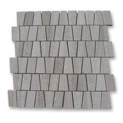 "GlassTileStore - Relic Gray Wood Marble Tile - Relic Gray Wood Marble Tile             This marble mosaic will provide endless design possibilities from contemporary to classic. It creates a great focal point to suit a variety of settings.         Color: Gray    Material: Gray Wood   Finish: Polished   Sold by the Sheet- each sheet measures 12""x12"" (1 sq.ft.)   Thickness: 10 mm            - Glass Tile -"
