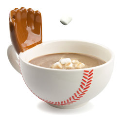 Max I's Creations - The Mug With A Glove - This baseball mug is a real fan favorite!