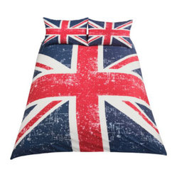 Living Union Jack Duvet Set, Double